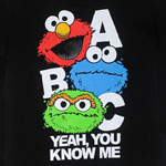 ABC Yeah, You Know Me - Sesame Street Juvenile T-shirt