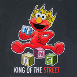 King Of The Street - Sesame Street Juvenile T-shirt