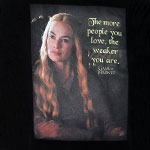 The Weaker You Are - Game Of Thrones Juniors T-shirt