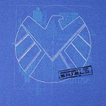 Blueprints - Agents Of S.H.I.E.L.D. T-shirt