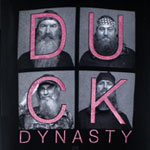 Duck Glitter Squares - Duck Dynasty Juniors T-shirt