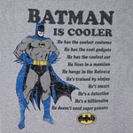 Batman Is Cooler - DC Comics T-shirt