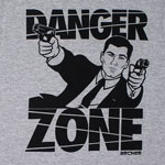 Danger Zone - Archer T-shirt