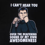 The Sound Of My Awesomeness - Archer T-shirt
