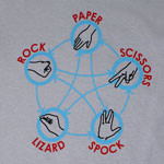 Rock Paper Scissors Lizard Spock - Big Bang Theory T-shirt