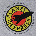 Planet Express Logo - Futurama T-shirt