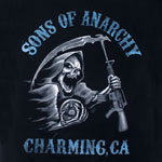 Blue Tone Reaper - Sons Of Anarchy T-shirt