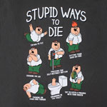 Stupid Ways To Die - Family Guy T-shirt