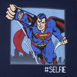 Superman Selfie - DC Comics T-shirt