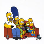 On The Couch - Simpsons T-shirt