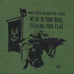 We're In Your Base - Halo T-shirt