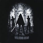 Michonne With Walkers - Walking Dead T-shirt