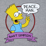 Peace Man - Simpsons T-shirt