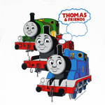 Three Trains Moving Forward - Thomas The Tank Engine Juvenile And Toddler T-shirt