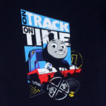 On Track On Time - Thomas The Tank Engine Juvenile And Toddler T-shirt