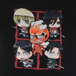 Character Montage - Attack On Titan T-shirt