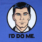 I'd Do Me - Archer T-shirt