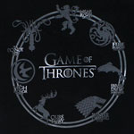 Circle Crests - Game Of Thrones T-shirt