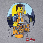 Everything Is Awesome - LEGO Movie T-shirt