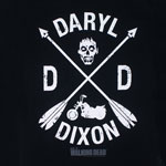Daryl Dixon Crest - Walking Dead T-shirt