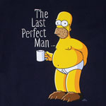 The Last Perfect Man - Simpsons T-shirt
