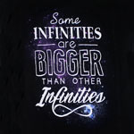 Some Infinities Are Bigger - The Fault In Our Stars Juniors T-shirt