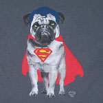 Super Pug - DC Comics T-shirt