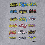 Batman Comic Book Logos - DC Comics T-shirt