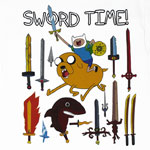 Sword Time! - Adventure Time T-shirt