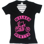 Walker Hunter - Walking Dead Juniors T-shirt