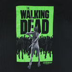 Michonne Facing Off - Walking Dead Sheer T-shirt