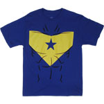 Booster Gold Costume - DC Comics T-shirt