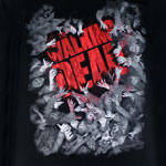 Horde And Logo - Walking Dead T-shirt