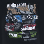 Four Survivors - Walking Dead T-shirt