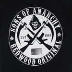 Crossed Logo - Sons Of Anarchy T-shirt