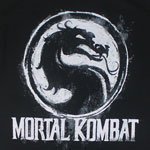 Chalk Logo - Mortal Kombat T-shirt
