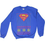 Ugly Superman Sweater - DC Comics Sweatshirt