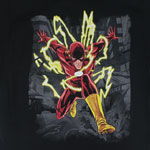 Lightning Strikes - DC Comics T-shirt
