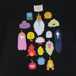 Blank Faces - Adventure Time T-shirt
