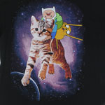 Space Kitty - Adventure Time T-shirt