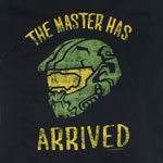 The Master Has Arrived - Halo T-shirt