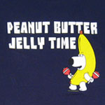 Peanut Butter Jelly Time - Brian - Family Guy T-shirt