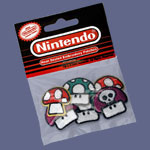 Mushroom 6 Pack - Nintendo Patches