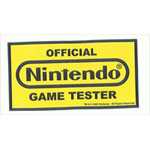 Official Game Sticker - Nintendo Sticker