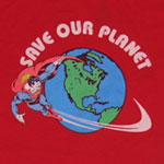 Save Our Planet - Superman - DC Comics Sheer Women's T-shirt
