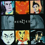 Heroes Paintings - Heroes T-shirt