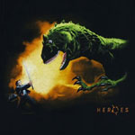 Hiro Vs. T-Rex - Heroes Sheer T-shirt