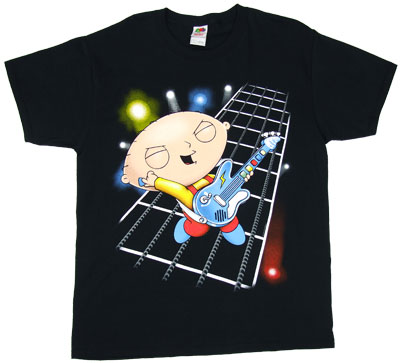 Rockstar Stewie - Family Guy T-shirt