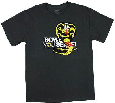 Bow To Your Sensei - Karate Kid T-shirt