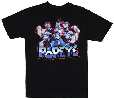 A Hundred Popeyes - Popeye T-shirt
